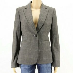 Tahari Women's Jacket Blazer Gray